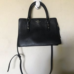 Kate Spade black satchel purse